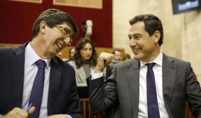 Ciudadanos abre la puerta a ir en coalición con el PP en Andalucía