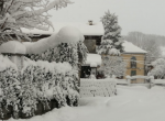 navidad con nieve