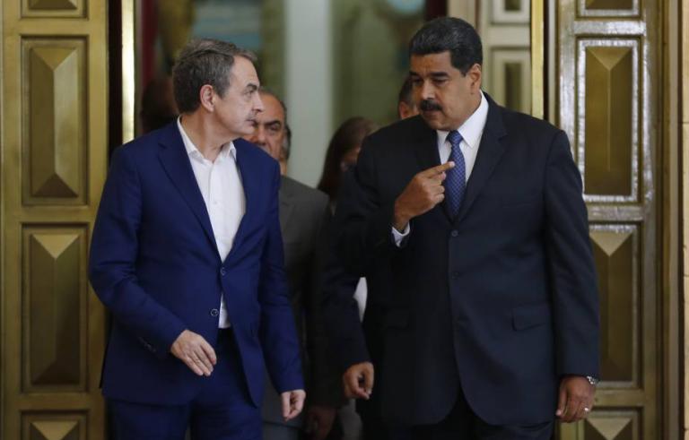 """Guaidó acusa a Zapatero de """"cómplice de violación de DDHH"""" en Venezuela mientras IU pide a la UE que reconozca los resultados"""