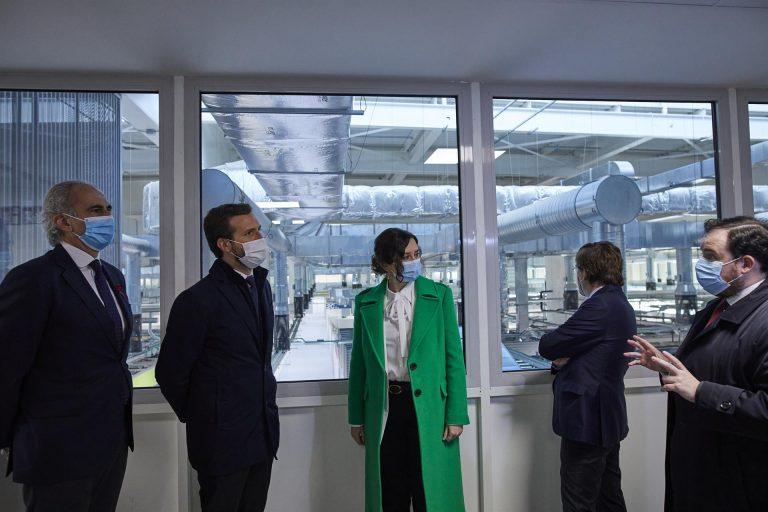 Casado critica la ausencia de Sánchez e Illa en la inauguración del nuevo 'hospital de pandemias'
