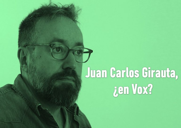 Juan Carlos Girauta participará en un acto de la fundación Disenso (Vox)
