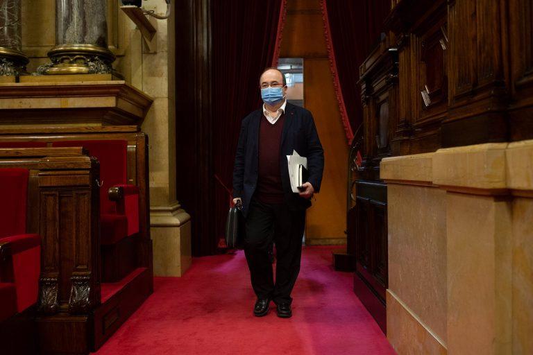 Iceta niega que el PSC esté detrás del recurso contra el aplazamiento de las catalanas