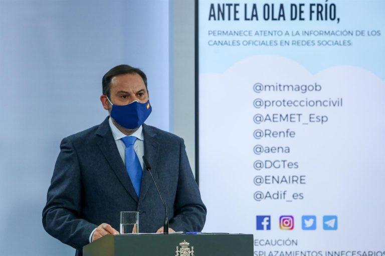 El Gobierno asegura que la decisión de declarar Madrid como zona catastrófica se tomará en base a criterios objetivos