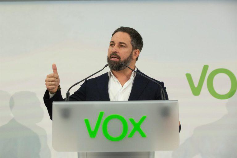 Abascal señala a la 'izquierda progre' como responsable del ambiente que llevó al asalto del Capitolio