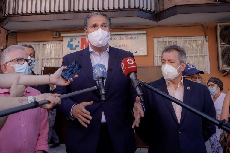 El PSOE acusa a la Comunidad de Madrid de «perseguir sanitarios» y estudia recurrir que les «obliguen» ir al Zendal