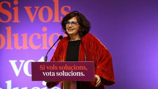 """Rosa Lluch (comuns) considera """"simbólica"""" la amnistía y ve el indulto como la vía más efectiva"""