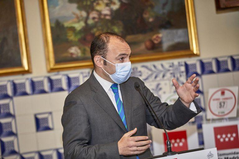 La Com. de Madrid pide «ayudas directas» al Estado para la economía de la región tras 'Filomena' y la COVID