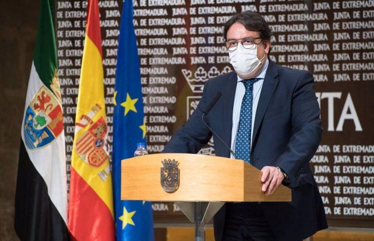 Extremadura dice que «jamás descartaría el confinamiento», pero no cree que «en este momento sea necesario»