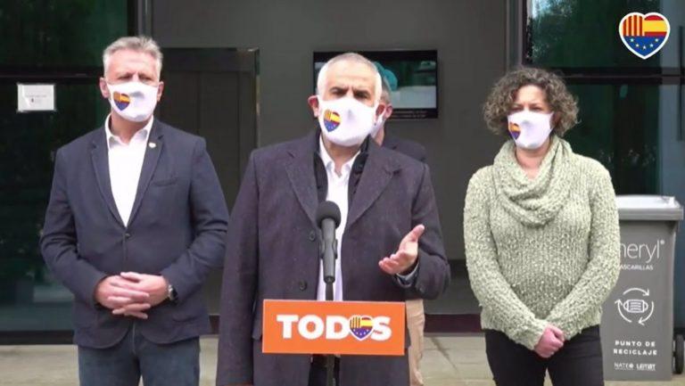 Carrizosa (Cs) pide dimitir al consejero catalán de Exterior porque no tiene «ejemplaridad» para organizar el 14F