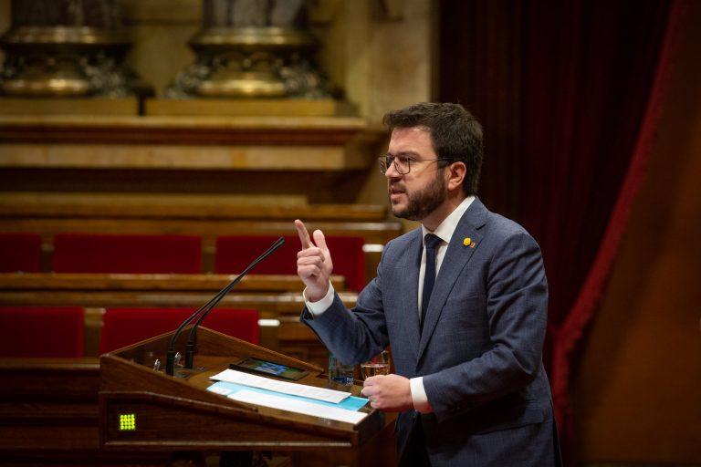 Aragonès alerta de una alta abstención si se mantiene el 14F: «Se está jugando con fuego»