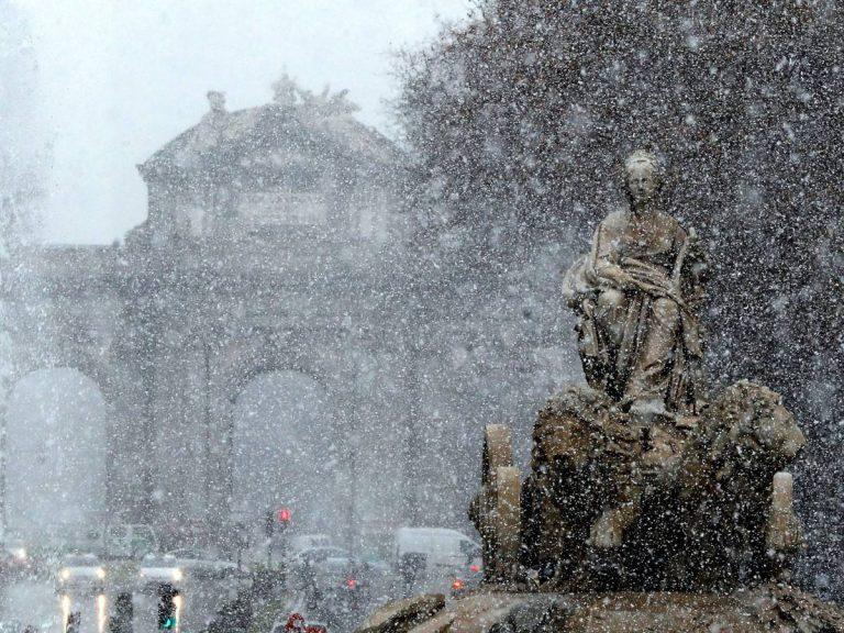 'Filomena' congela los termómetros que bajan hasta los -14,9ºC en Villablino (León) y Palacios (Burgos)