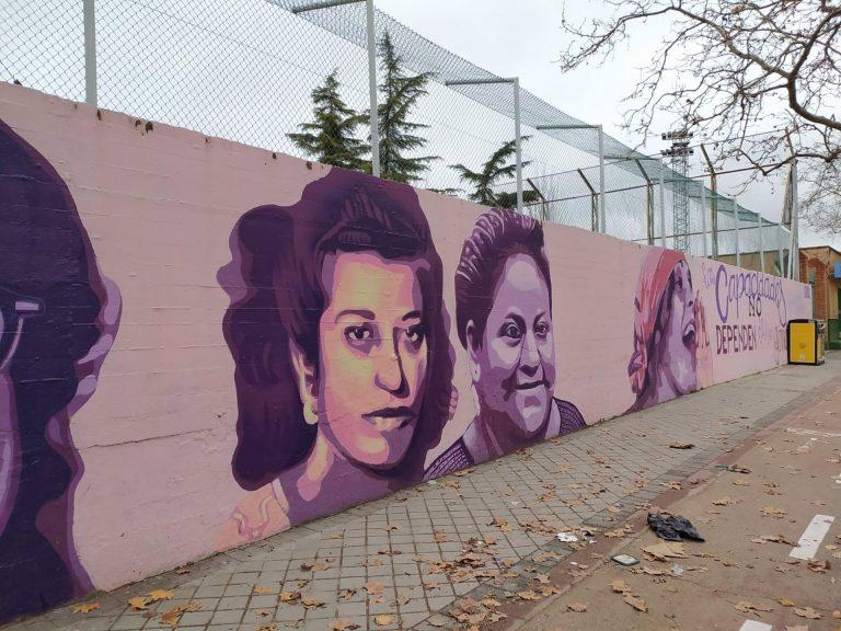 Almeida dice que es tan democrático poner como quitar el mural feminista de Madrid
