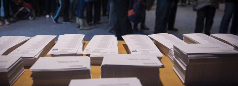 Hasta 28 listas distintas, incluidas PACMA y Front, se disputan el 30 de mayo en Cataluña