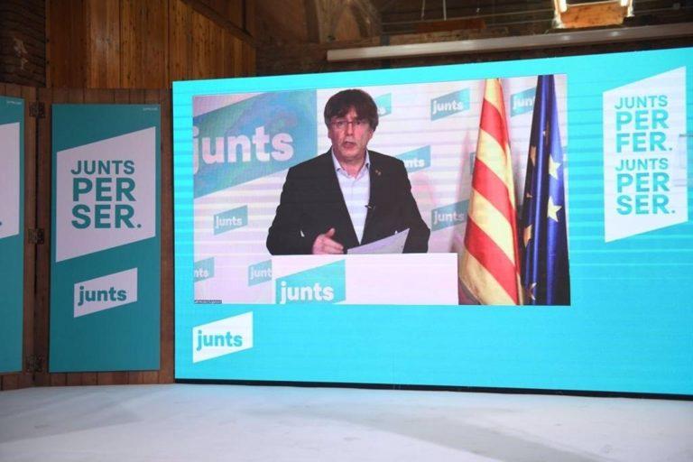 """Puigdemont (Junts) apunta a ERC: """"No se puede servir a dos repúblicas al mismo tiempo"""""""