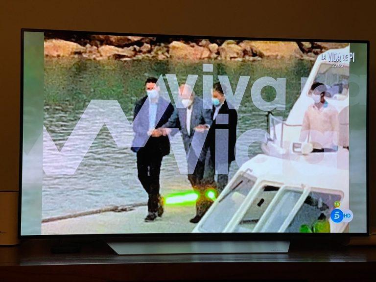 Mediaset difunde una nueva imagen de Juan Carlos I en Abu Dabi