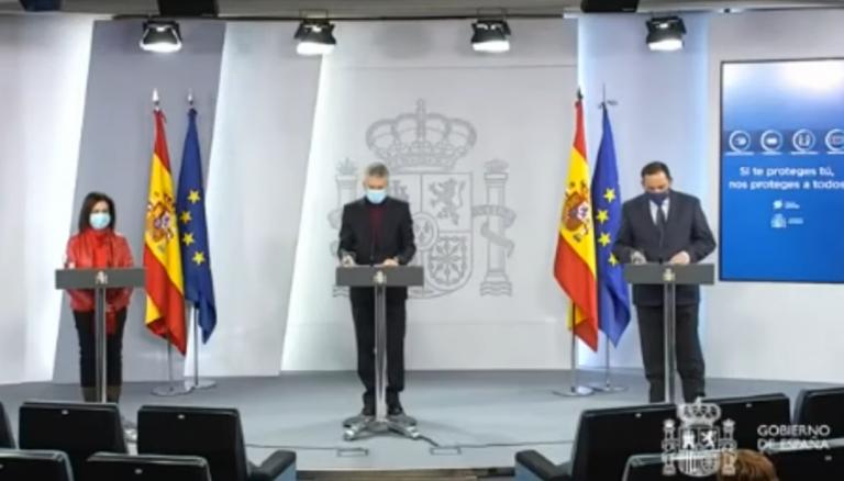 Marlaska pide «no entrar en polémicas estériles» con Madrid y dice que todavía no se pueden valorar los daños