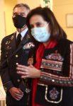 Robles pide un informe de explicaciones al JEMAD tras conocer que ha recibido la primera dosis de la vacuna del Covid