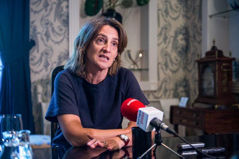 Ribera replica a Echenique que nacionalizar Endesa 'no soluciona nada'