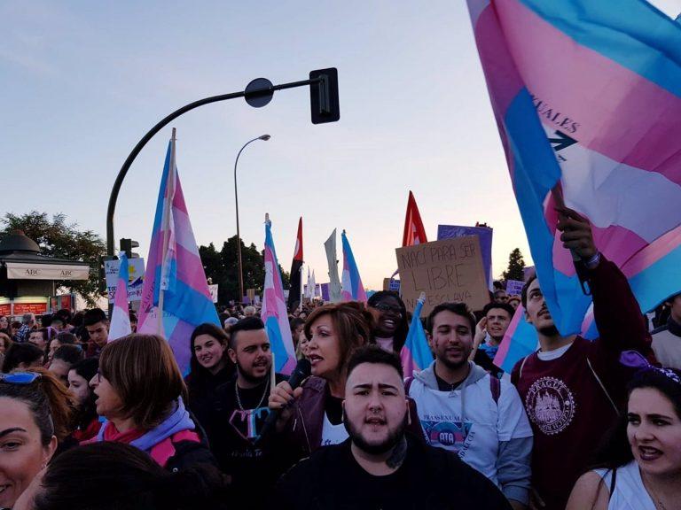 Plataforma Trans denuncia la intención del PSOE de posponer la aprobación de la ley por los derechos del colectivo