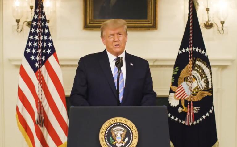 Trump asume la derrota