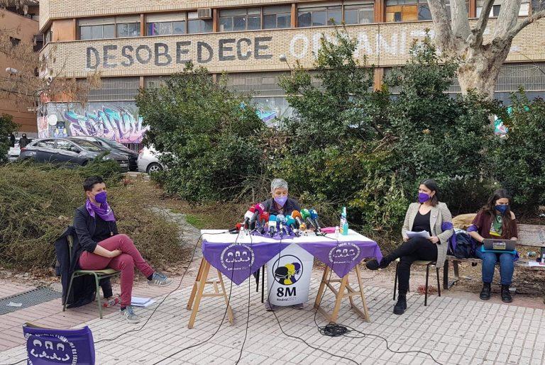 La Comisión 8M convoca cuatro concentraciones con menos de 500 personas en plazas de Madrid