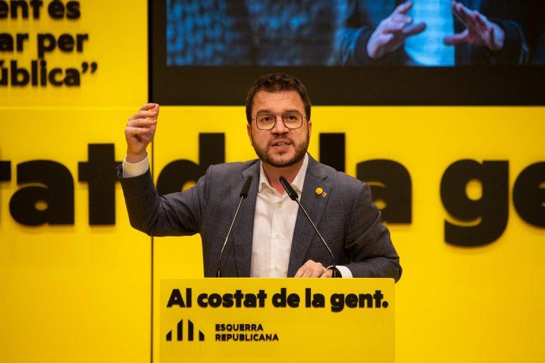 Aragonès (ERC) sobre el caso de Borràs (JxCat): «Si se confirma será un caso de corrupción»