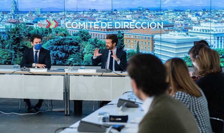 El PP afirma que no aceptará «puertas giratorias» en la renovación del CGPJ
