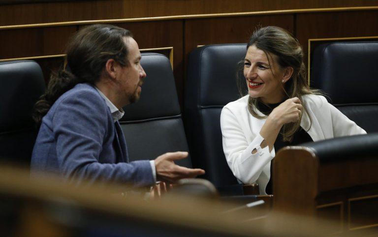 Iglesias, sobre un posible liderazgo futuro de Yolanda Díaz, se pregunta «Quién sabe? ¿Por qué no?»
