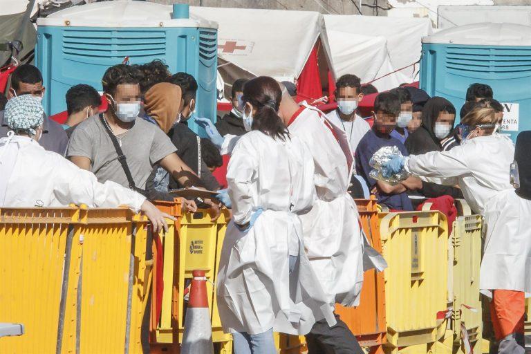 Unidas Podemos compara la situación de los migrantes en Canarias con la de la isla de Lesbos