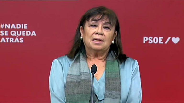 El PSOE dice que la libertad de expresión no debe ser defendida mediante actos violentos