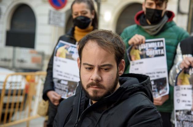 Unidas Podemos registra ante el Ministerio de Justicia la petición de indulto urgente para Pablo Hasél