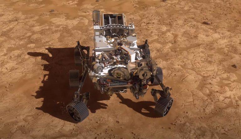 El rover Perseverance de la NASA aterriza en el cráter Jezero de Marte
