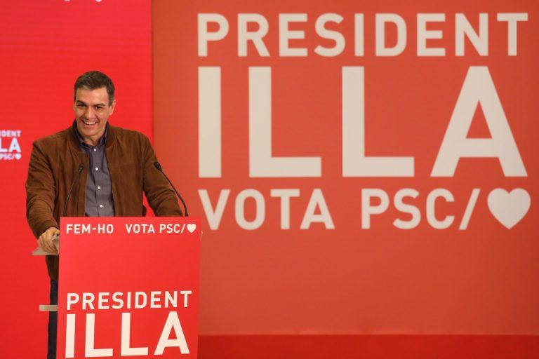 Sánchez responsabiliza a los independentistas de que las elecciones sean el 14F