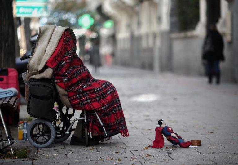 España, por encima de la media europea en personas con discapacidad en riesgo de pobreza