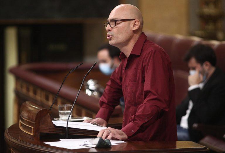 Guijarro (UP) apunta a Carmen Calvo como factor clave de la tensión con el PSOE