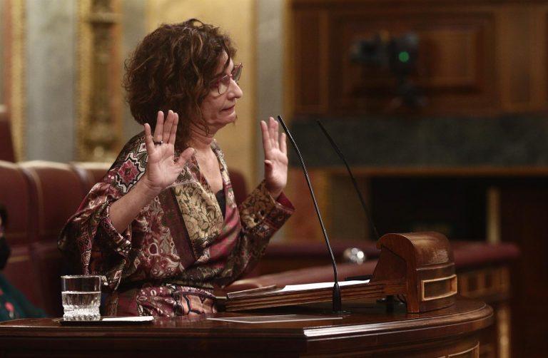 María Jesús Montero asegura que se enteró de la marcha de Iglesias por la prensa