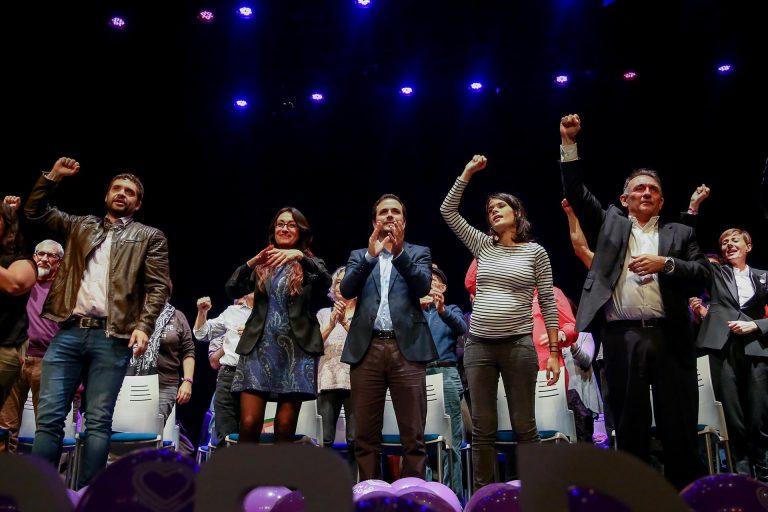 IU ratifica que irá con Podemos al 4M