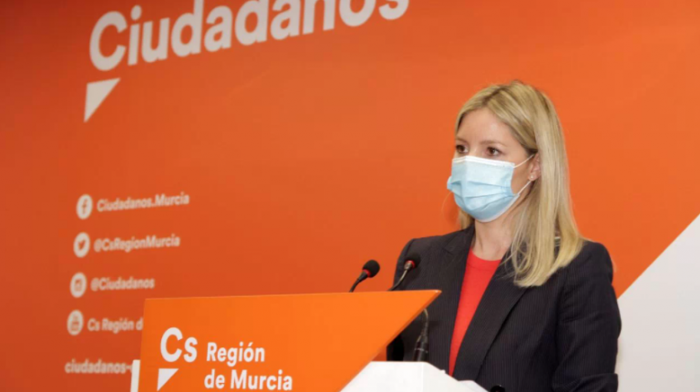 Dimite de su cargo en Ciudadanos la impulsora de la moción de censura en Murcia