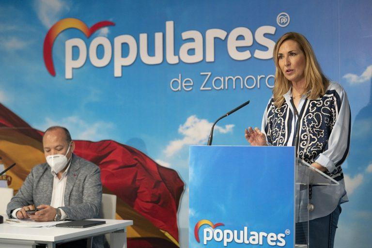 Ana Beltrán ve en las expropiaciones de Baleares la «política chavista» que «va a hacer Sánchez en toda España»
