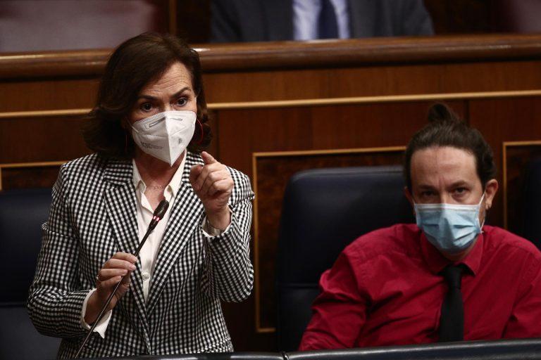 Calvo desvincula al Gobierno de la denuncia de Iglesias contra García Egea