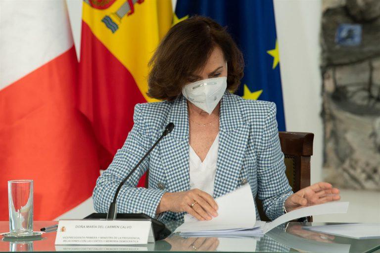 Calvo: «Se tiene que acabar la política frívola y llegar la política de mucha gestión»