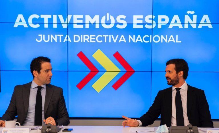 El PP se reúne hoy para reafirmar su proyecto tras las fallidas mociones en la Región de Murcia y Castilla y León