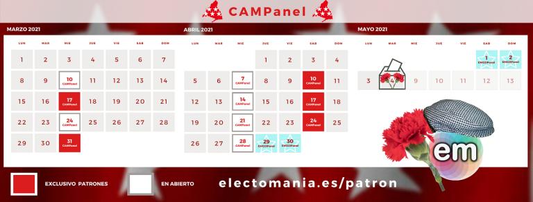 Presentamos nuestra cobertura electoral para la Com. de Madrid… y viene con sorpresa
