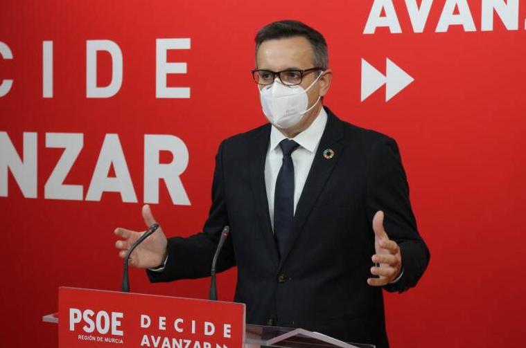 Moción de censura en la Región de Murcia: el PSOE tiende la mano a todos los diputados
