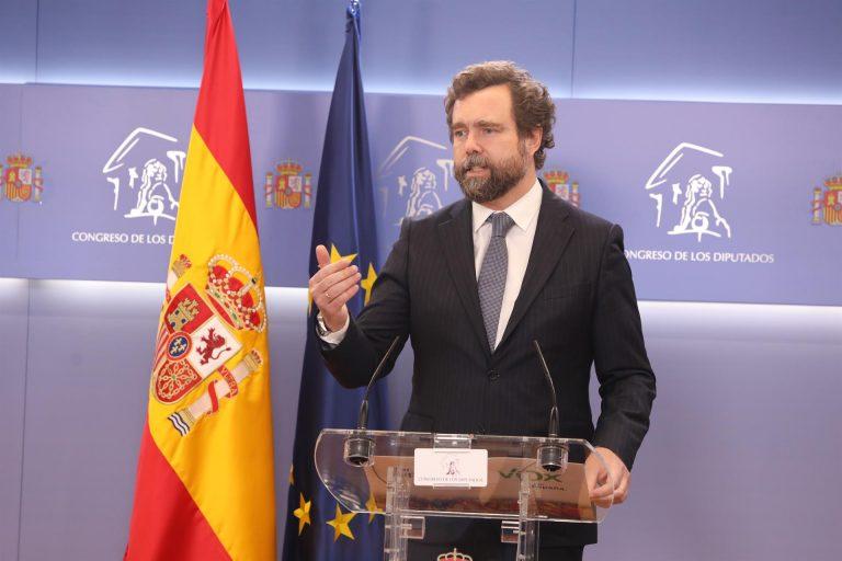 Vox exige a PP y Ciudadanos «que cumplan lo pactado» en Madrid y Andalucía sobre el pin parental