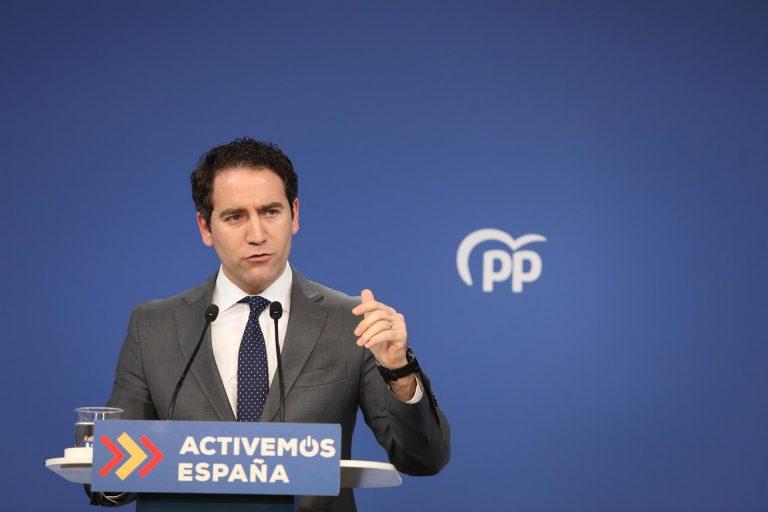 García Egea apuesta por Ayuso para presidir el PP de Madrid: «Si yo fuera afiliado, mi total apoyo a la presidenta»