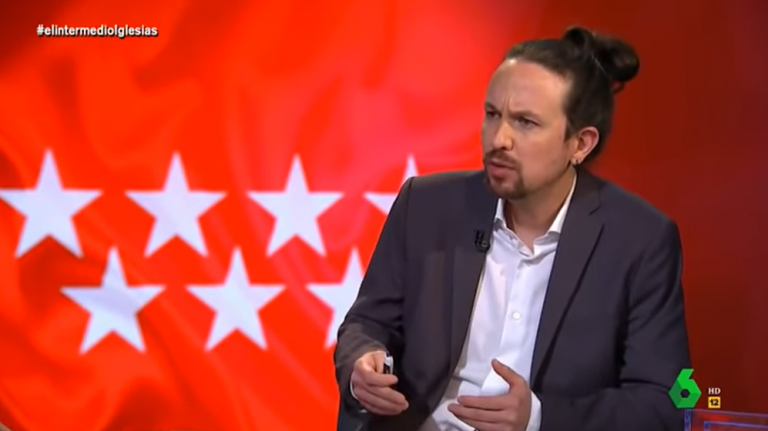 Pablo Iglesias ya habla en clave madrileña