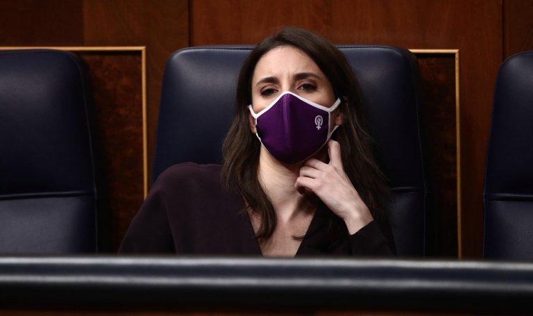 Irene Montero pide perdón al colectivo Trans por no haber conseguido llevar al Congreso la ley del Ministerio de Igualdad