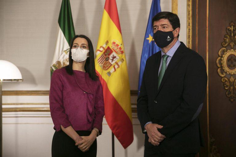 Ciudadanos reafirma su respaldo a Arrimadas en el aniversario de su elección como líder del partido