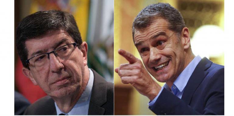 Cantó dice que en la ejecutiva de Ciudadanos no sabían nada, mientras Marín afirma lo contrario